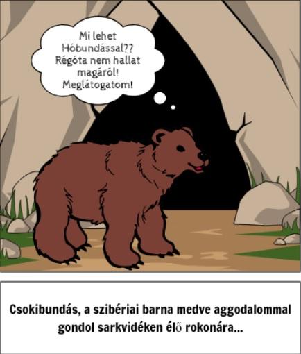 Medvebalzsam képregény – Hóbundás