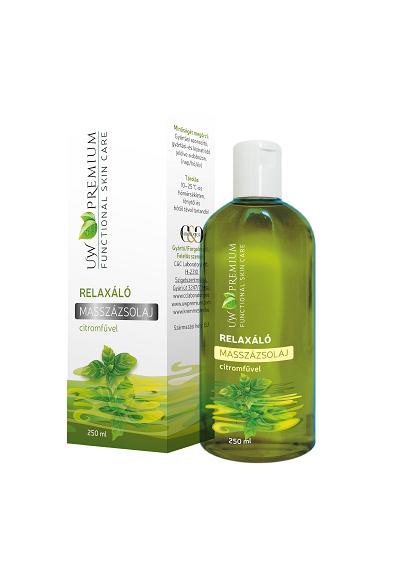 UW Premium Relaxáló Masszázsolaj