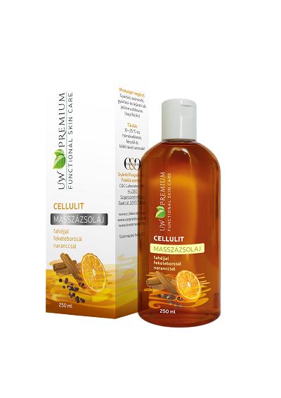 UW Premium Cellulit Masszázsolaj