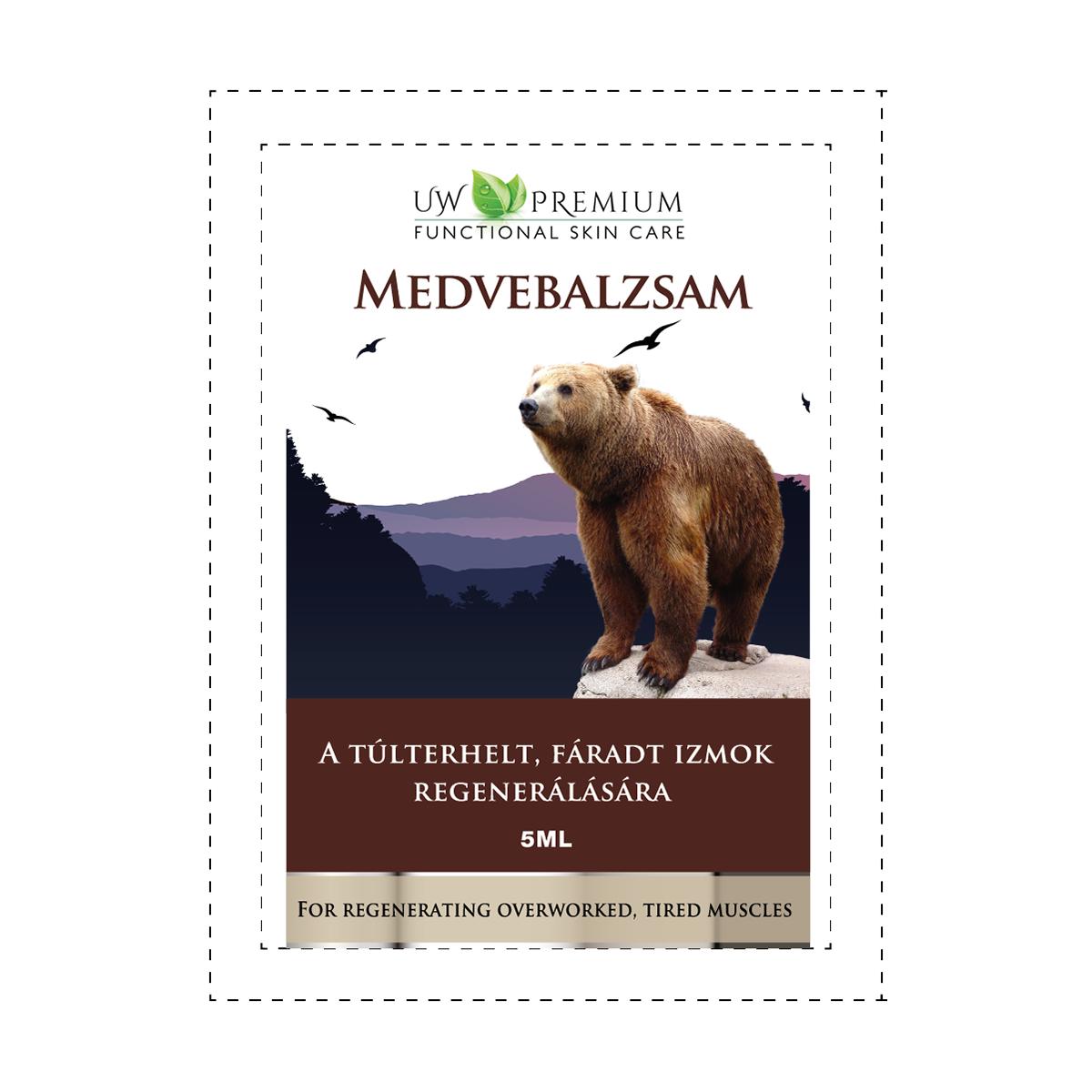UW Premium Medvebalzsam 5 ml