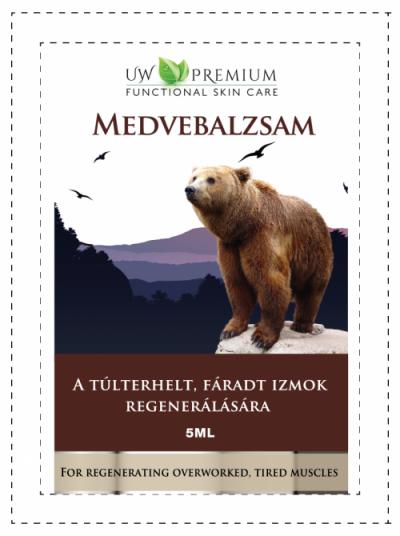 UW Premium Medvebalzsam 5ml