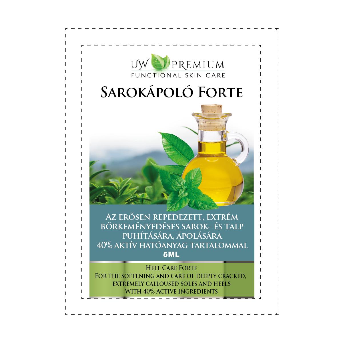 UW Premium Sarokápoló Forte 5 ml