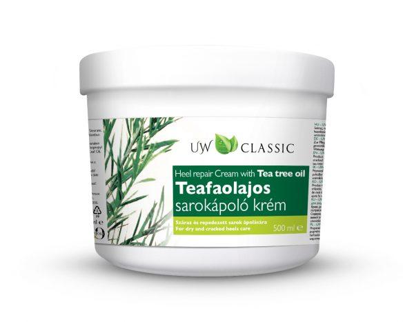 UW Classic Teafaolajos Sarokápoló krém 500 ml