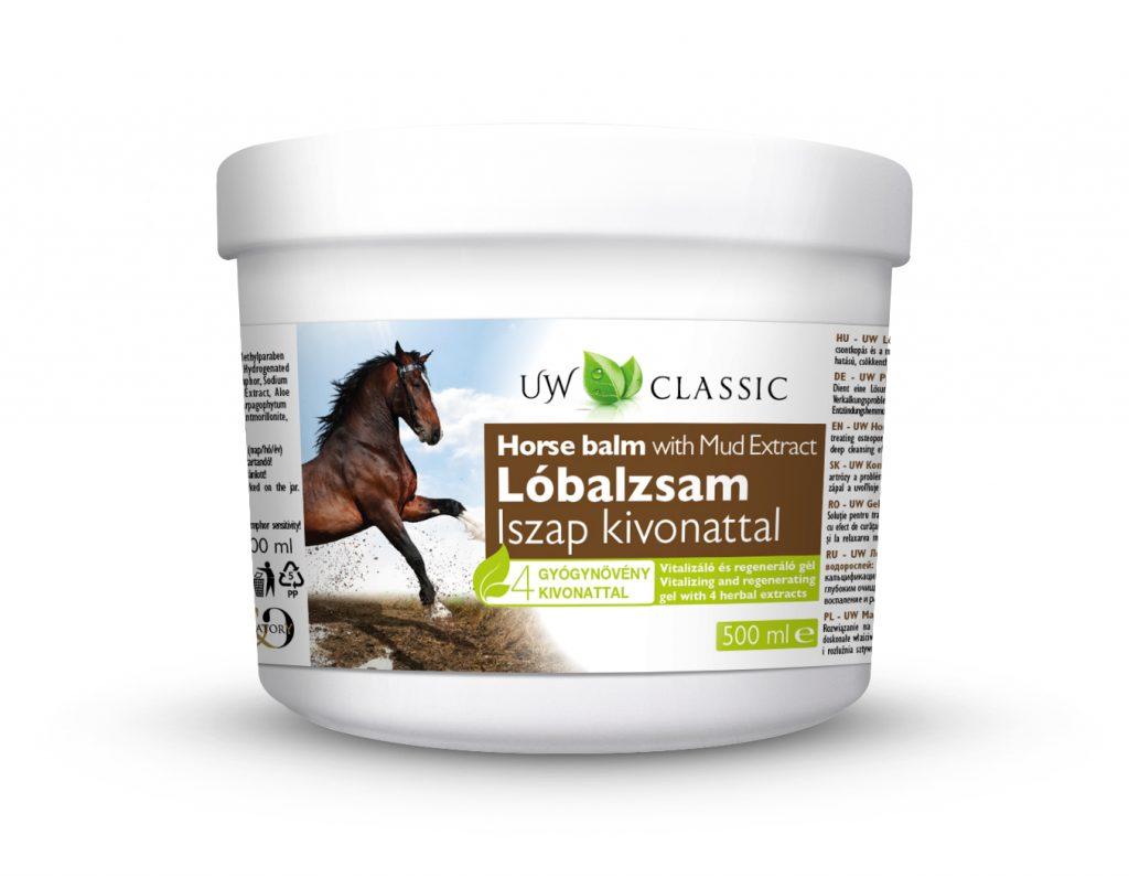 UW Classic Lóbalzsam Iszappal 500 ml